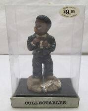 1995 FYM River Grove Pottery Works Black Man Figurine Suit Bow Tie Collectible