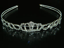 Wedding Bridal Prom Pageant Crown Rhinestone Princess Design Tiaras Headband WT2