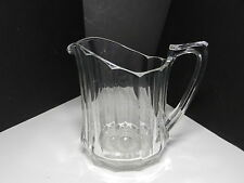 "Jefferson Krys-Tol Chippendale Pitcher 48 oz Clear Crystal 7 1/2"" T ca1907-20s"