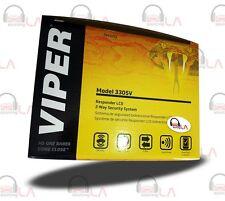 VIPER 3305V 2-Way Responder Car Alarm & Keyless Entry Responder