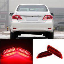 2x LED Rear Bumper Reflector Brake Lights Set For Toyota Corolla Lexus 2011-13