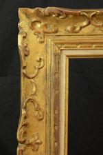 Beau CADRE MONTPARNASSE Tableau ancien bois Doré sculpté ART DECO  5F FRAME
