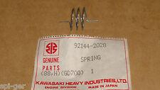 Generator GD700 GD700A Genuine Kawasaki New Control Panel Spring P/No 92144-2028