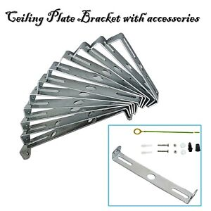 Ceiling Rose Strap Bracket Strap Brace Plate With Accessories Light Fixing