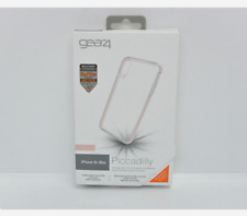 New OEM Gear4 Piccadilly Clear/Rose Gold Case For iPhone Xs Max
