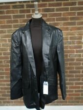 Next Mens Leather Jacket Size Large  BNWT RRP £120