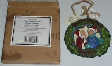 "Jim Shore~Heartwood Creek~#4011066-""Firs t Christmas Together""~Hanging Ornament"