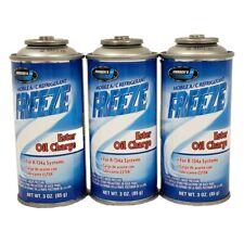 R134a + Ester Oil Auto Truck A/C Refrigerant Gas Freon (3) 3 oz Can USA