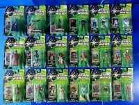 LOT OF 18 STAR WARS Power Of The Force ACTION FIGURES Green Card KENNER  ~ New