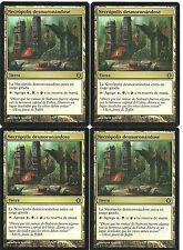 mtg Magic 4x Crumbling Necropolis ( Necropolis desmoronandose ) Spa GOOD