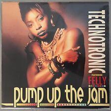 "TECHNOTRONIC - Pump Up The Jam - 12"" Single (Vinyl LP) SBK V-19701"
