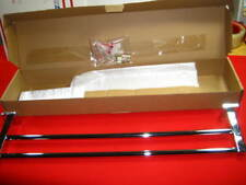 """Symmons Dia 24"""" Double Chrome Towel Bar 353DTB-24 Wall Mounted New"""