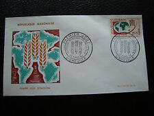 GABON - enveloppe 1er jour 21/3/1963 (cy72)