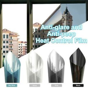 Window Insulation Film Privacy Transparent High Heat Rejection UV Cut - UK