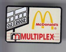 RARE PINS PIN'S .. MC DONALD'S RESTAURANT MULTIPLEX SPORT CINEMA DRIVE USA ~17