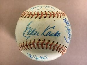 1969 Louisville Colonels Team Signed Baseball(20 Sig) High Grade! Kasko,Coniglia