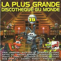 Compilation CD La Plus Grande Discothèque Du Monde Vol.19 - France