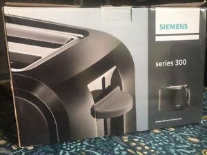Siemens black series 300 toaster