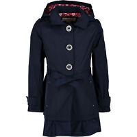 MICHAEL KORS Girls' Parka Jacket, True Navy, size 4 6 years