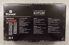 3 Genuine Canon G-1 Black Toner Cartridges - NP Series OEM NEW - FREE SHIPPING