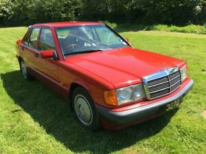 mercedes 190e-2Ltr New Mot-1 owner-service history-low miles-can deliver may px
