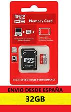 ¡¡OFERTA!!Tarjeta MICRO SD 32gb+adaptador