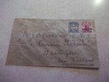 PENRHYN COOK ISLANDS Stamps On Scarce 1903 COVER To New Zealand