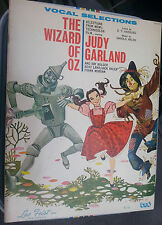 1968 Songbook Wizard Of Oz Vocal Selection Feist Judy Garland Tin Man Scarecrow