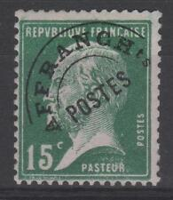 "FRANCE STAMP TIMBRE PREOBLITERE N° 65 "" PASTEUR 15c VERT "" NEUF xx TB K471A"