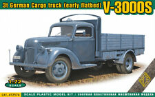 Ace 1/72 Model Kit 72576 V-3000S 3t German cargo truck (early flatbed)