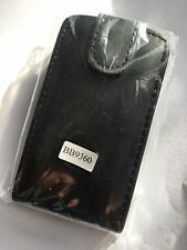 BlackBerry 9360 Curve Fitted Flip Leather Case Vertical in Black ALC5852 Cellink