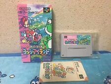 Yoshi's Island Super Famicom Japan NTSC-J Nintendo boxed set Super Mario Yossy