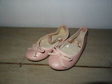Ballerines fillette rose clair avec noeud TEX Taille 26