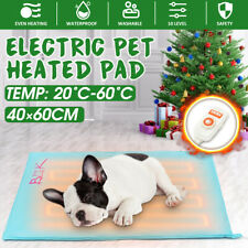 Waterproof Warm Pet Electric Heated Pad Heating Mat Puppy Dog Cat Winter Pet Bed