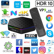 T95Z+ S912 Octa Core 3G 32G Android 7.1 TV Box WiFi + Measy RC12 Mouse Keyboard