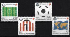 SINGAPORE SG1408/11, 2004 FIFA CENTENARY MNH SET