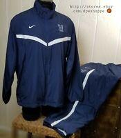NCAA Villanova Wildcats Nike Basketball Warm Up Suit Jacket/Pants Sz 2XL *Notes
