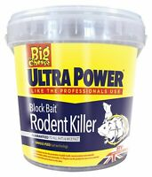 15 x 20g ULTRA POWER Block Bait Strong Strength Rodent Rat Mouse Poison Killer