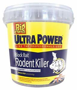 15 x 20g ULTRA POWER Block Bait Strong Strength Rodent Rat Mouse Poison Killer
