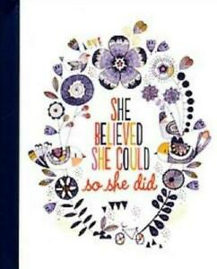 She Believed She Could So She Did Peter Pauper Address Book