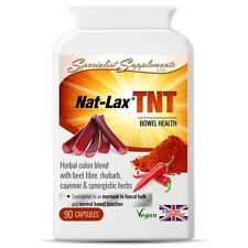 Nat-Lax TNT Natural EXTRA STRONG LAXATIVE Constipation Relief - 90 Tablets