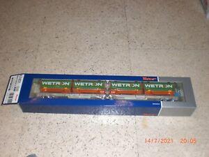 """Roco 67401 Doppeltaschen-Gelenkwagen, AAE """"WETRON""""     NEU/OVP"""