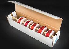 Kit de cable de imán Surtidos esmalte recubierto alambre de cobre Carrete 5 22 24 28 30 32 AWG