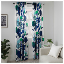 """NEW Ikea IRMELIN Curtains 1 Pairs (2 Panels) Multicolor 57"""" x 98"""""""