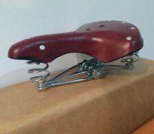 Sella 3 Molle Bici Epoca swallow Olanda - Bacchetta - Graziella Vintage MARRONE