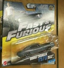 MATTEL FAST & FURIOUS DODGE CHARGER  1970 -9/32