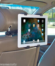 Universal Tablet Rotating Headrest Backrest Mount Car Entertainment iPad Holder