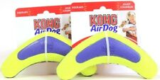 2 Kong Air Dog Squeaking Medium Boomerang Fun Bouncy Nonabrasive On Teeth & Gums