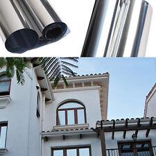 Hot Sale Windows Film Sun Control Silver House One-Way Mirror Glass Film Tint 2m