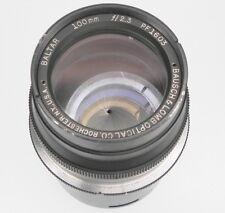 Bausch-Lomb Baltar 100mm f2.3 Nikon SLR mount  #PF1603